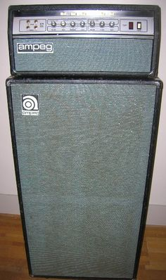 1975 Ampeg SVT.  No better wall of noise for bass.