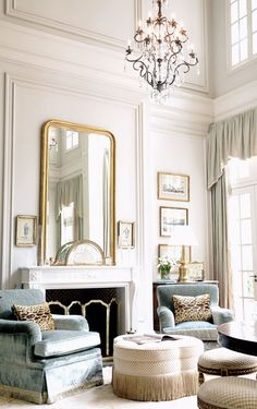 Patricia McLean Interiors, Inc: 2013 Living Room ID for the Atlanta Symphony Associates' Decorators' Showhouse via {this is glamorous}.