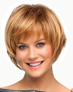 Layered Bob Haircuts For Fine Hair Short Styles Pinterest Bobs And