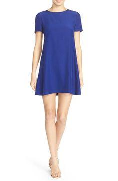 Amanda Uprichard 'Winthrop' Silk Shift Dress available at #Nordstrom