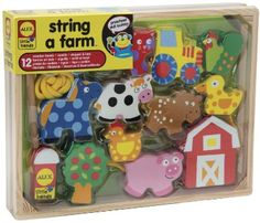 Amazon.com: ALEX® Toys - Early Learning String A Farm -Little Hands 1486F: Toys & Games