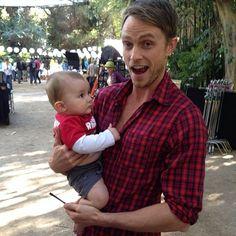 wilson with a babyyyy! :)