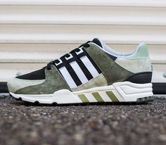 This season's return of the adidas EQT Running Support 93 is ready to release this coming weekend in its colorway for the year. This time the early Me Too Shoes, Men's Shoes, Shoe Boots, Shoes Sneakers, Adidas Runners, Sports Footwear, Baskets, Sneaker Magazine, Cycling Shoes