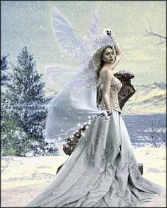 The Snow Fae by SuzieKatz.deviantart.com on @DeviantArt