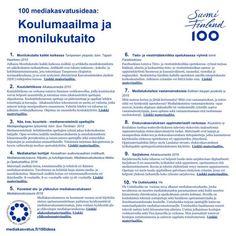 100 mediakasvatusideaa: koulumaailma ja monilukutaito » Mediakasvatus