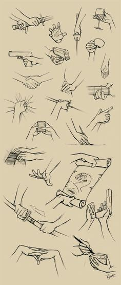 Hands; How to Draw Manga/Anime