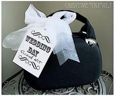 bridal shower gift- wedding day survival kit