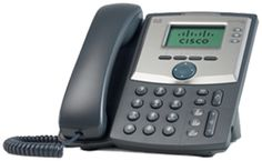 Cisco SPA 303 3-line IP phone with flourishing features finely meets basic requirements of any small business.
