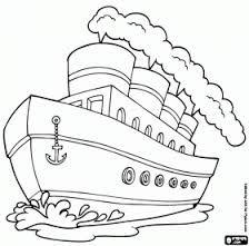 coloriages bateaux - Recherche Google
