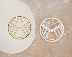 Shield Cookie Cutter - Marvel Comics Avengers Geek Superhero Symbol Super Hero Agents Of Shield Hydra Red Skull Baking Supply - 3D Printed by RochaixCo on Etsy https://www.etsy.com/listing/225362591/shield-cookie-cutter-marvel-comics