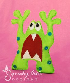 Monster PDF Sewing Pattern & Tutorial  by SquishyCuteDesigns, $2.00