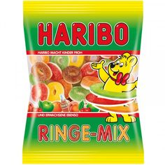 -in USA- Haribo Ringe Mix - Fruit gummies Haribo Candy, Haribo Sweets, Fini Tubes, Candy Drawing, Sweets Online, Bubble Gum Machine, Online Candy Store, Junk Food Snacks, Candy Brands