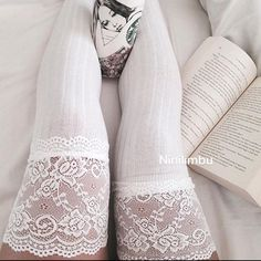 ✂️ is White Vanity Knit Lace Thigh High socks! These Vanity Knit thigh highs will not only keep you toasty warm. ❄️They are also a necessity for anyone looking to be sporty and sexy. Material: Acrylic, spandex, cotton. Available in : Black, white, blue and Grey. Let me know which colors you would like to order Restocked Black and white ones. Price dropped. Accessories Hosiery & Socks