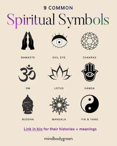 Hindu Symbols, Yoga Symbols, Alphabet Symbols, Symbols And Meanings, Sacred Symbols, Symbol Tattoos With Meaning, Symbolic Tattoos, Om Tattoo Meaning, Bff Tattoos