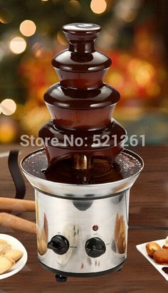 (47.90$)  Watch more here - http://aimtk.worlditems.win/all/product.php?id=32597683379 - Household Chocolate Fountain Fondue Event Wedding Children Birthday Festive & Party Supplies Christmas Waterfall Machine kitchen