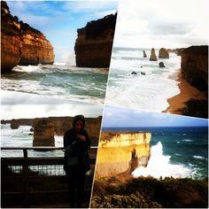Great ocean road #backpacking #12apostles by leonieeinoel http://ift.tt/1ijk11S