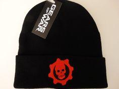 Gears of War Omen Logo Xbox Video Game Knit Cuff Hat Nwt #GearsofWar #Beanie