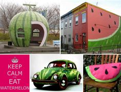 Watermelon designs because who doesn't like watermelon?