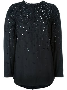 7241689540d Fausto Puglisi Perforated Blouse - Farfetch