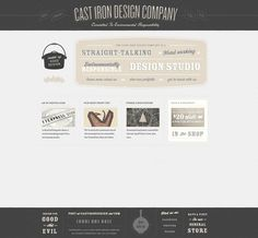 web design, nice colors- great footer!