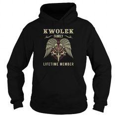 KWOLEK Family Lifetime Member - Last Name, Surname TShirts