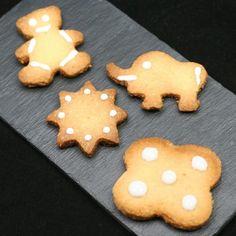 Galletas de mantequilla y almendras para #Mycook http://www.mycook.es/receta/galletas-de-mantequilla-y-almendras/