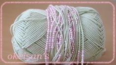 かぎ針で編んでみよう♪ ~ビーズ編みのかわいいがま口編♪ : teami工房 けいきち Knitted Hats, Crochet Patterns, Beads, Knitting, Handmade, Crafts, Crochet Purses, Mom, Beading
