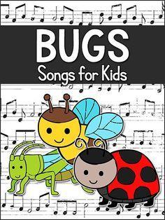 Kids' Songs about Bugs & Insects, Pre-K, Preschool, Kindergarten - PreKinders