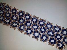 Браслет из бисера и бусин. МК. DIY. Tutorial: beaded bracelet - YouTube