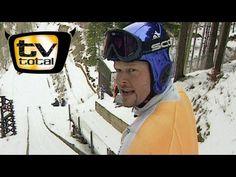 Raab in Gefahr beim Skispringen (8:25)