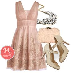 """""""Layered Petit Fours Dress"""" by modcloth on Polyvore"""