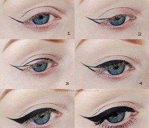 Inspiring image negro, belleza, ojo de gato, tutorial #873393 by Beela97 - Resolution 500x500px - Find the image to your taste