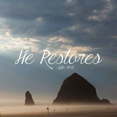 YES HE DOES!!! And My God Will Restore it all In Jesus Mighty name Amen!!!!! ~~TG