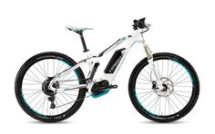 """The Haibike XDURO Fulllife 5.0 2017 is aperfect touring EMTB for light and medium terrain. Available in 27.5""""wheel sizesand features afull suspension fr"""