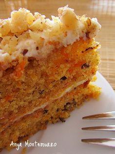 АНГЛИЙСКИЙ МОРКОВНЫЙ ТОРТ (CARROT-CAKE) : foodclub_ru