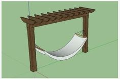 Download Pergola Plans With Hammock PDF patio chair plans ...