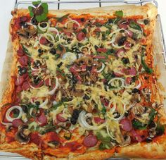 Pizza, pizza, pizza!!! Get your healthy pizza recipes here!