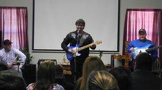 Jayc Harold singing at Hope Corral Cowboy Church.