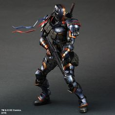 Cheap comics marvel, Buy Quality comic character directly from China comic video Suppliers: SQUARE ENIX Play Arts KAI DC Comics Batman: Arkham Origins Deathstroke PVC Action Figure Collectible Model Toy Batman Arkham Origins, Dc Comics, Deathstroke Cosplay, Kai, Batman Action Figures, Steampunk Corset, Figure Model, Movie Characters, Marvel Dc
