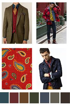 FromDesign Options, a fabulous CA-based color forecasting company:a preview of upcoming trends for the Autumn / Winter 2016-2017 season. Just a little taste of what's to come for women, men, kids…