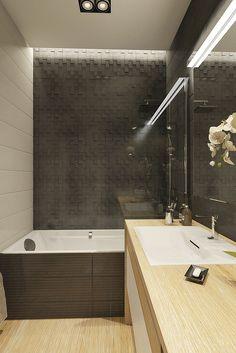 Apartament in Moscow on Behance Moscow, Bathtub, Behance, Bathroom, Modern Bathrooms, Full Bath, Standing Bath, Washroom, Bathtubs