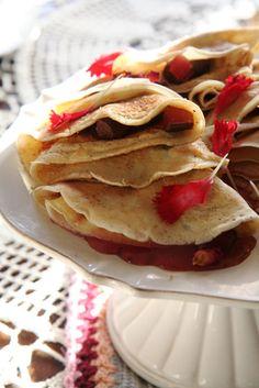 Pannekoeke, Pa's en Tannie Poppie – huiskok Pannekoek Recipe, Oreo, Poppies, Food And Drink, Cooking Recipes, Puddings, Breakfast, Ethnic Recipes, Pancakes