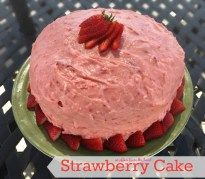 Strawberry Cake   An Affair from the Heart