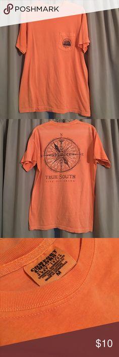 Comfort Colors Live Oak Brand T-shirt Peachy/orange faded look shirt; very soft; EUC Tops Tees - Short Sleeve