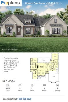 Wishing you a restful day! Find your dream home plan during the Black Friday event, going on right now. Enjoy 20% off house plans (like this modern farmhouse plan). Questions? Call 1-800-528-8070 today. #architect #architecture #buildingdesign #homedesign #residence #homesweethome #dreamhome #newhome #newhouse #foreverhome #interiors #archdaily #modern #farmhouse #house #lifestyle #designer