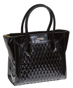 Diana Black Knight Vogue Carryall A classic, refined and timeless beauty in black knight #Purse #CutlerBags #WomensFashion