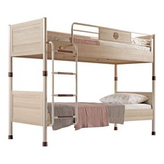 The best cool bunk beds that creates a cocoon of cosines for your teen. Add a touch of style and sophistication to your teen bedrooms with our comfortable and stylish bed. Bunk Bed With Desk, Cool Bunk Beds, Bunk Bed Decor, Small Bedroom Organization, Childrens Bedroom Furniture, Warm Bedroom, Teen Bedding, Stylish Beds, Bedroom Vintage