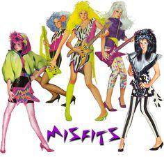 The Misfits: Be a rockin bad girl!