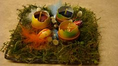 Eierkerzen basteln für Ostern Deko Ideen mit Flora-Shop