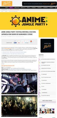 Anime Jungle Party   Festival mistura a cultura japonesa com shows de Raimundos e Strike